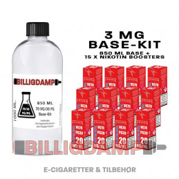 Base-Kit (3 mg - 70VG/30PG)...